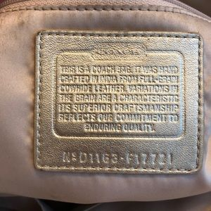 Coach Bags - Coach East West Leather Tote Shoulder Bag